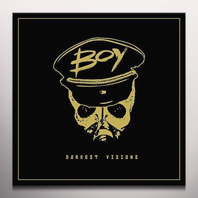 Boy DARKEST VISIONS (LTD GOLD VINYL/GOLD FOIL) Vinyl Record - Colored Vinyl