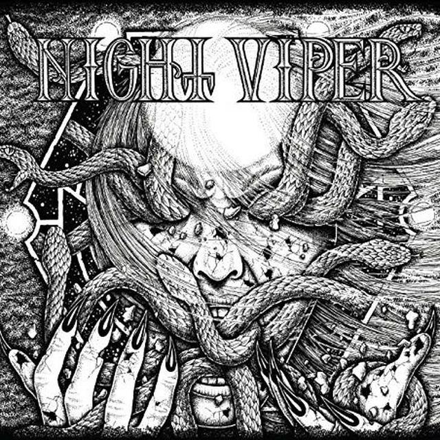 NIGHT VIPER Vinyl Record - UK Release