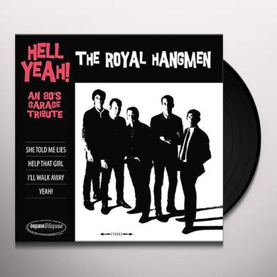 ROYAL HANGMEN HELL YEAH: 80S GARAGE TRIBUTE Vinyl Record - UK Import