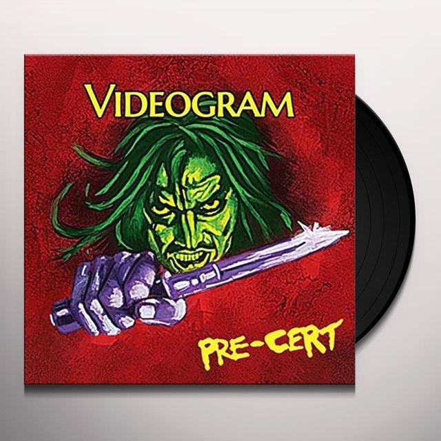 VIDEOGRAM PRE-CERT (GATEFOLD LP 250 LTD WITH CD) Vinyl Record