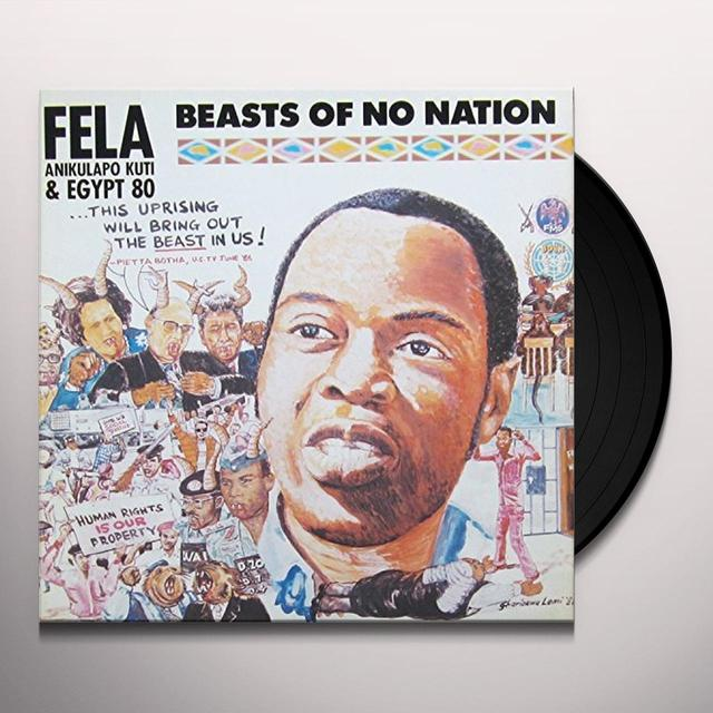 Fela Kuti & Egypt 80 BEASTS OF NO NATION Vinyl Record - UK Import