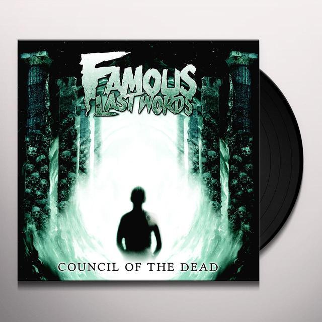 Famous Last Words COUNCIL OF THE DEAD Vinyl Record