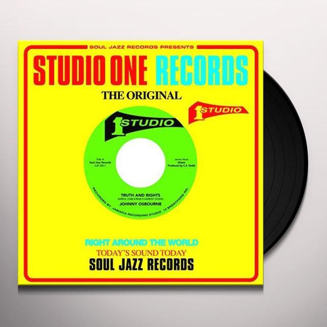 Johnny Osbourne / Prince Jazzbo TRUTH & RIGHTS / CRABWALKING Vinyl Record