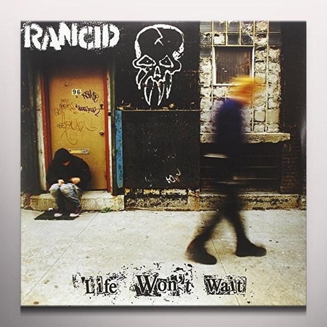 Rancid LIFE WON'T WAIT Vinyl Record - Colored Vinyl, Limited Edition, Orange Vinyl
