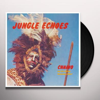 CHAINO & HIS AFRICAN PERCUSSION SAFARI JUNGLE ECHOES Vinyl Record