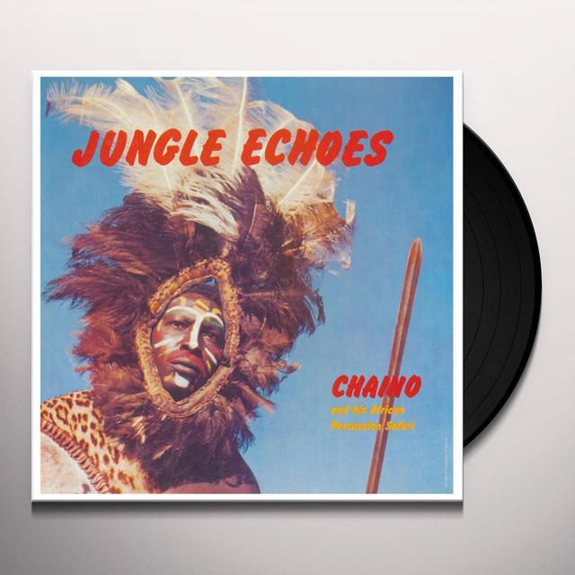 CHAINO & HIS AFRICAN PERCUSSION SAFARI JUNGLE ECHOES Vinyl Record