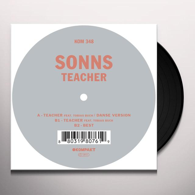Sonns TEACHER Vinyl Record