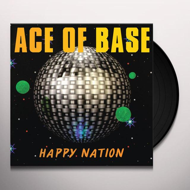Ace of Base HAPPY NATION Vinyl Record - Ultimate Edition