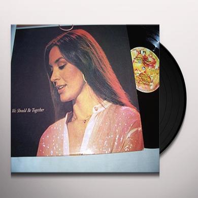 Crystal Gayle WE SHOULD BE TOGETHER Vinyl Record