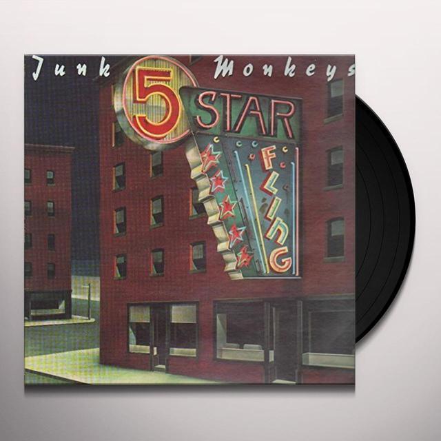 Junk Monkeys 5 STAR FLING Vinyl Record