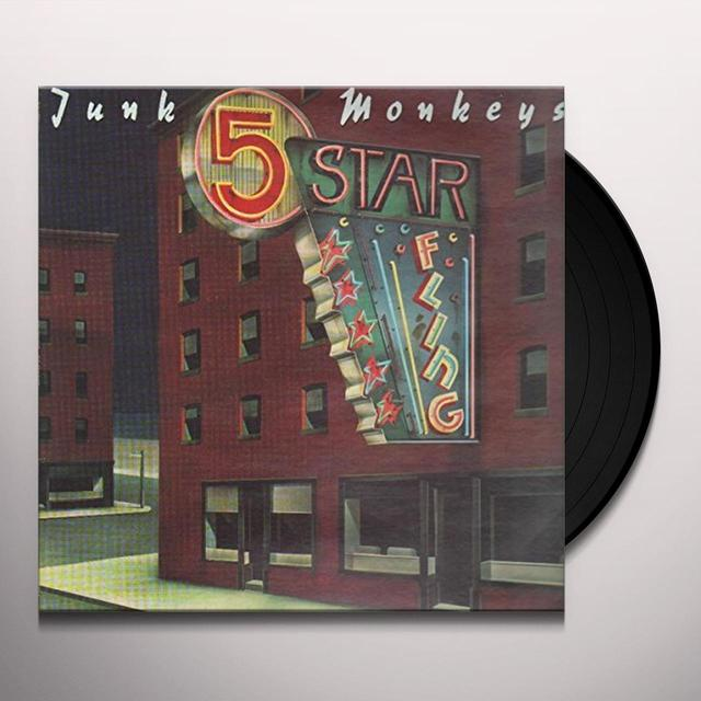 Junk Monkeys 5 STAR FLING Vinyl Record