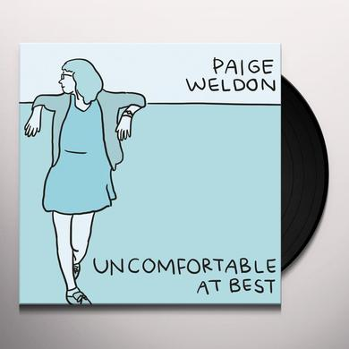 Paige Weldon UNCOMFORTABLE AT BEST Vinyl Record