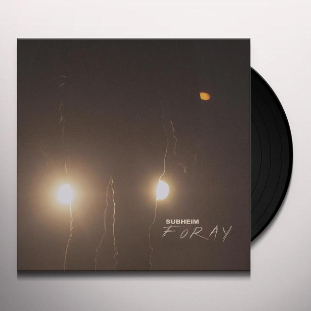 Subheim FORAY Vinyl Record
