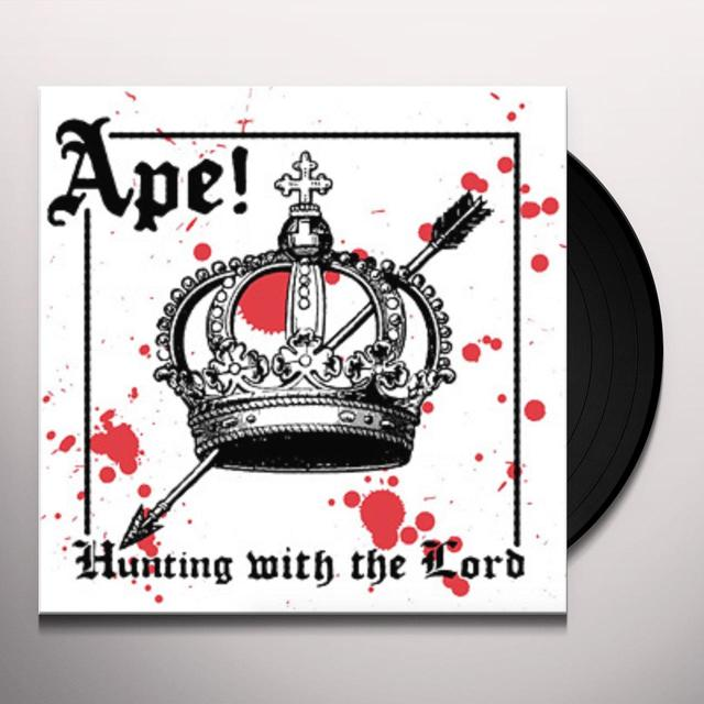 Ape HUNTING WITH THE LORD Vinyl Record