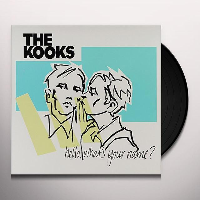 The Kooks HELLO WHAT'S YOUR NAME Vinyl Record - UK Import