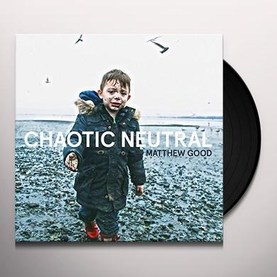 Matthew Good CHAOTIC NEUTRAL Vinyl Record
