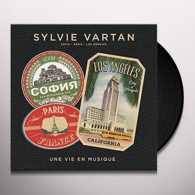 Sylvie Vartan UNE VIE EN MUSIQUE Vinyl Record