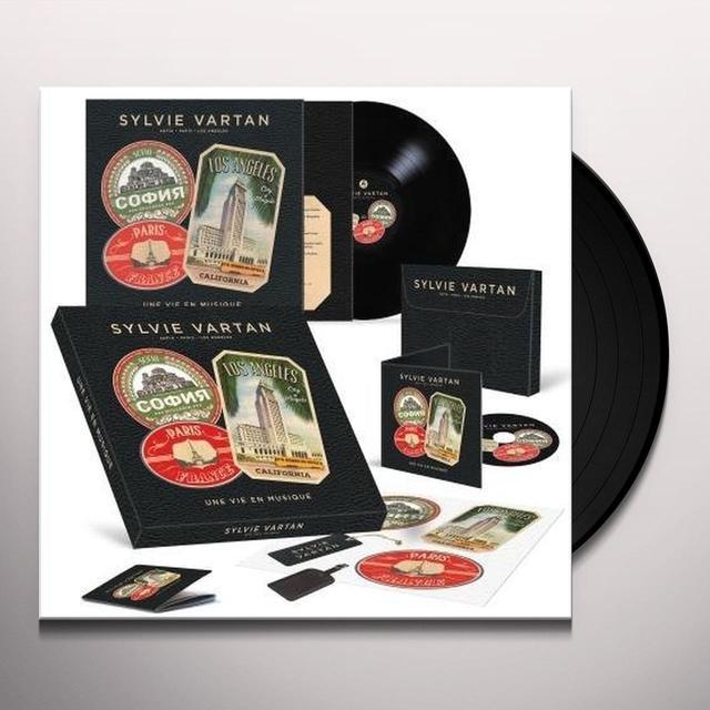 Sylvie Vartan UNE VIE EN MUSIQUE: LIMITED (FRA) Vinyl Record