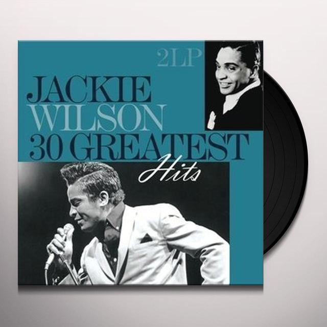 Jackie Wilson 30 GREATEST HITS Vinyl Record - 180 Gram Pressing, Holland Import