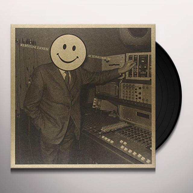 Arnaud Rebotini & Christian Zanési ACIDMONIUM Vinyl Record - UK Import