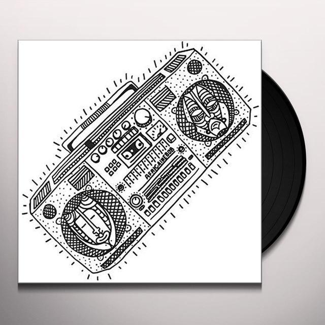 AFRICANE 808 BASAR Vinyl Record - UK Release