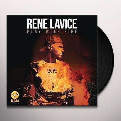 Rene Lavice PLAYING WITH FIRE SAMPLER Vinyl Record - UK Import