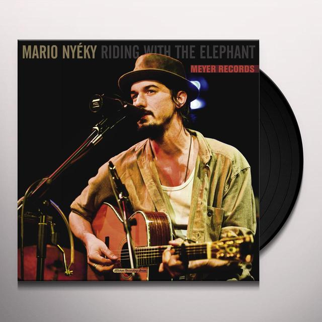 Mario Nyéky RIDING WITH THE ELEPHANT Vinyl Record - UK Release