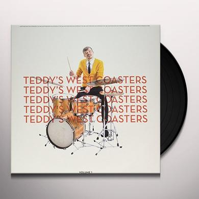 TEDDY'S WEST COASTERS VOLUME 1 Vinyl Record