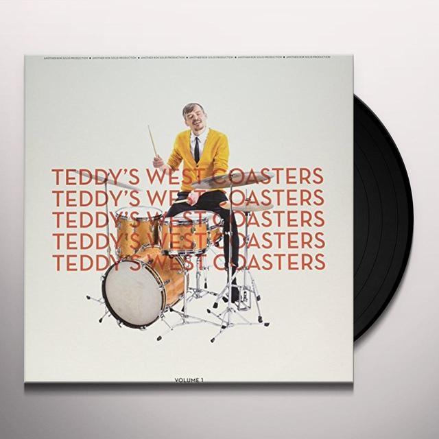 TEDDY'S WEST COASTERS VOLUME 1 Vinyl Record - Holland Import