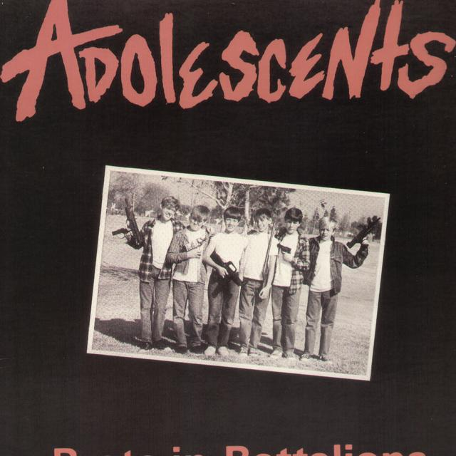 Adolescents BRATS IN BATTALIONS Vinyl Record