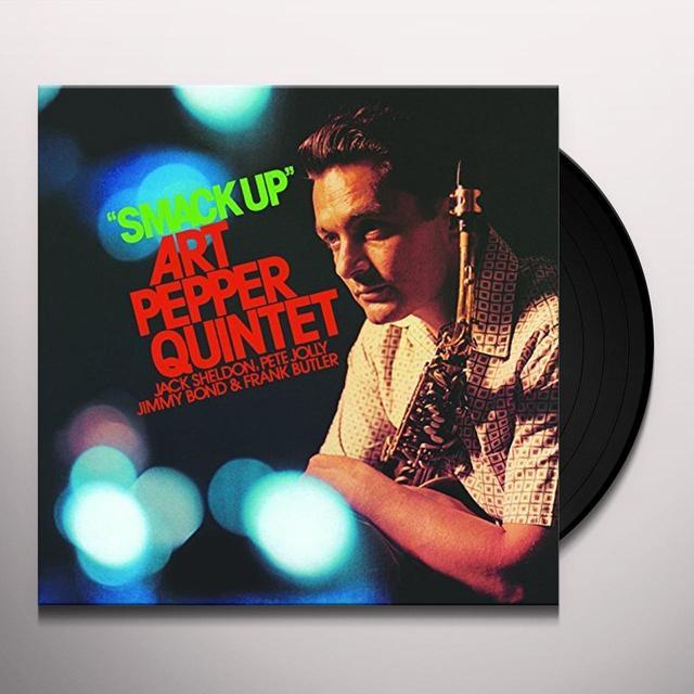 Art Pepper SMACK UP Vinyl Record