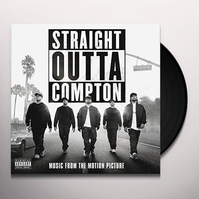 STRAIGHT OUTTA COMPTON / O.S.T. (GATE) STRAIGHT OUTTA COMPTON / O.S.T. Vinyl Record - Gatefold Sleeve
