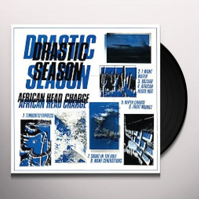 African Head Charge DRASTIC SEASON Vinyl Record - Digital Download Included