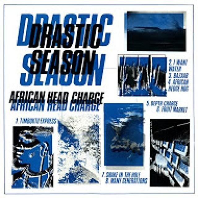 African Head Charge DRASTIC SEASON Vinyl Record