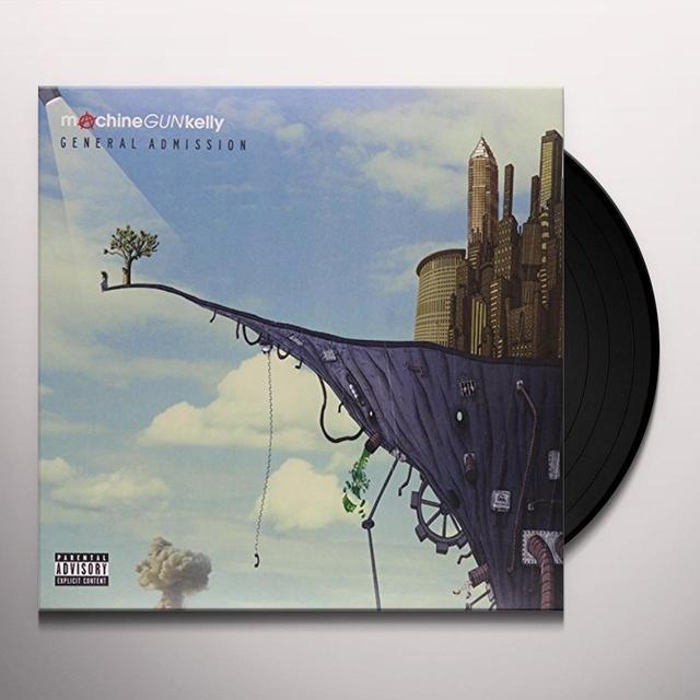 Machine Gun Kelly GENERAL ADMISSION Vinyl Record - Gatefold Sleeve, Deluxe Edition