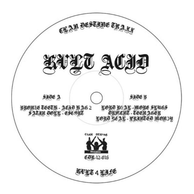 KVLT ACID / VARIOUS Vinyl Record