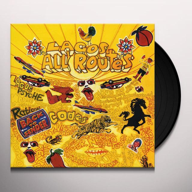 LAGOS ALL ROUTES / VARIOUS (REIS) LAGOS ALL ROUTES / VARIOUS Vinyl Record - Reissue