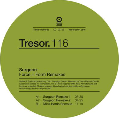 SURGEON FORCE & FORM REMAKES Vinyl Record