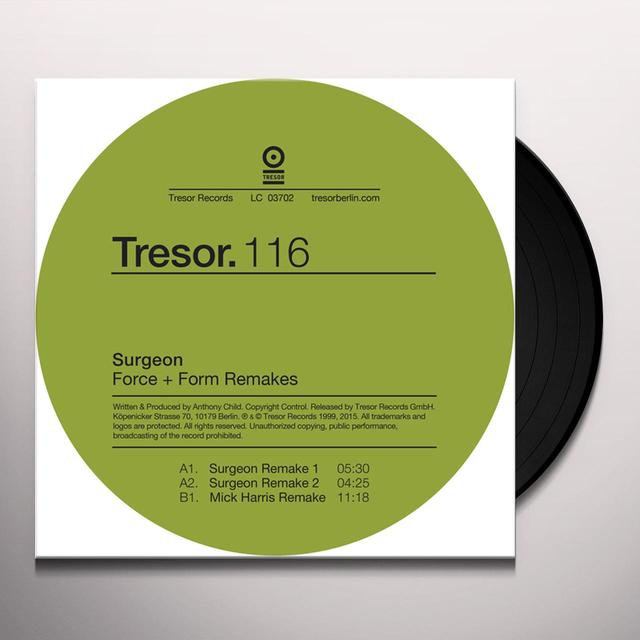 SURGEON FORCE & FORM REMAKES Vinyl Record