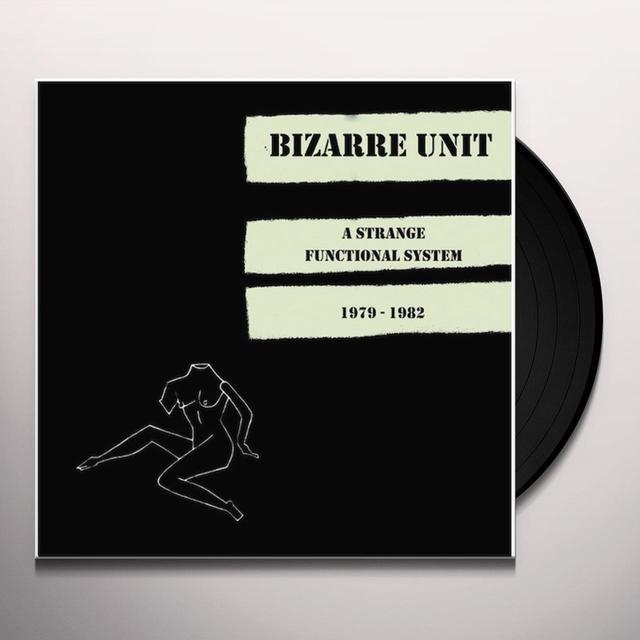 Bizarre Unit STRANGE FUNCTIONAL SYSTEM 1979-1982 Vinyl Record