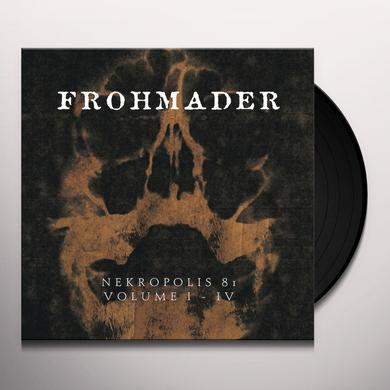 Peter Frohmader NEKROPOLIS 81 VOLUME I-IV Vinyl Record - Limited Edition