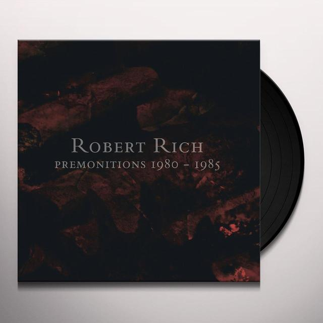Robert Rich PREMONITIONS 1980-1985 Vinyl Record - Limited Edition