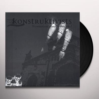 KONSTRUKTIVISTS FLOWMOTION YEARS 1980-1982 Vinyl Record