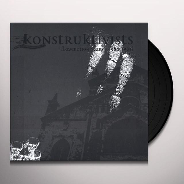 KONSTRUKTIVISTS FLOWMOTION YEARS 1980-1982 Vinyl Record - Limited Edition