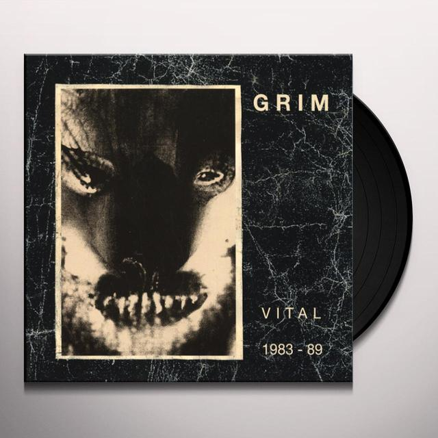 Grim WORKS 1983-89 Vinyl Record - Limited Edition