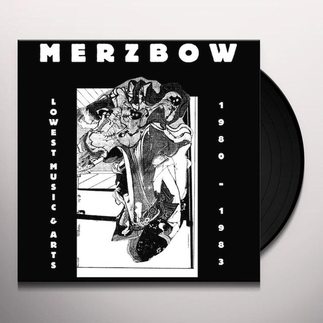 Merzbow LOWEST MUSIC & ARTS 1980-1983 Vinyl Record - Limited Edition