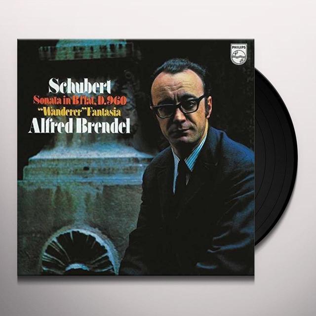 Alfred Brendel;Franz Schubert PIANO SONATA NO 21 IN B FLAT / WANDERER FANTASY Vinyl Record