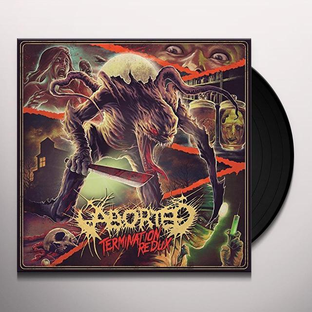 Aborted TERMINATION REDUX Vinyl Record