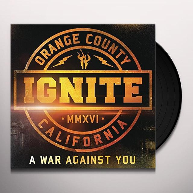 Ignite WAR AGAINST YOU Vinyl Record