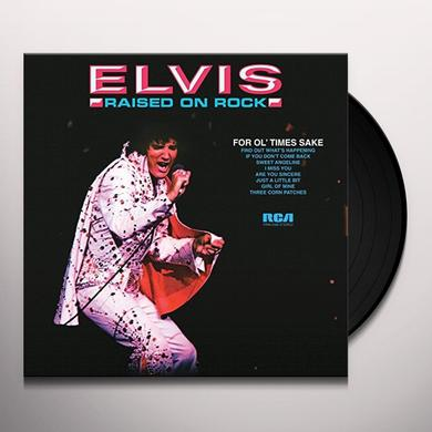 Elvis Presley RAISED ON ROCK-FOR OL' TIMES SAKE Vinyl Record